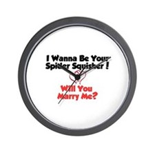 Cool Will you marry me Wall Clock