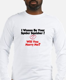 Willyoumarryme Long Sleeve T-Shirt
