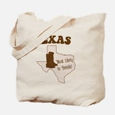 Texas: Most Likely to Secede Tote Bag