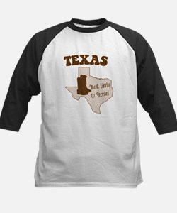 Texas: Most Likely to Secede Baseball Jersey