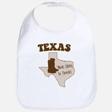 Texas: Most Likely to Secede Bib