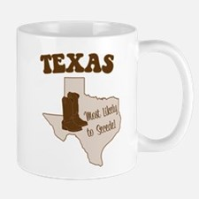 Texas: Most Likely to Secede Mugs