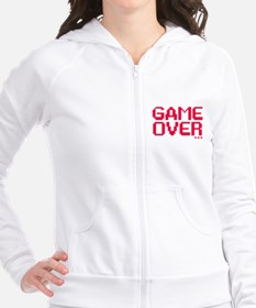 Game Over Fitted Hoodie