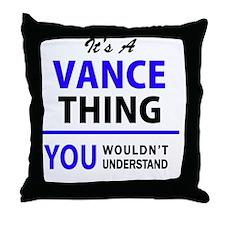 Cute Vance Throw Pillow