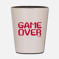 Game Over Shot Glass