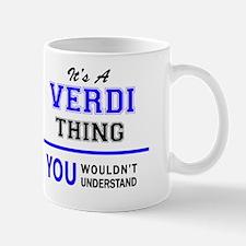 Unique Verdi Mug