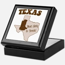 Texas: Most Likely to Secede Keepsake Box