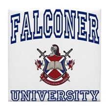 FALCONER University Tile Coaster