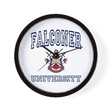 FALCONER University Wall Clock