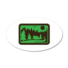 CAMPING Wall Decal