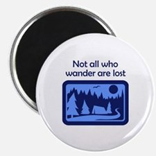 NOT ALL WHO WANDER Magnets