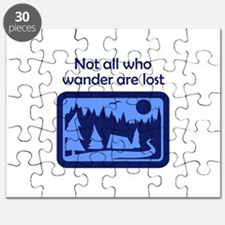 NOT ALL WHO WANDER Puzzle