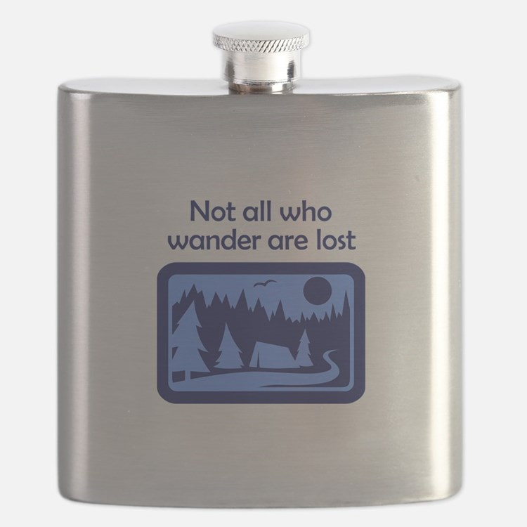 NOT ALL WHO WANDER Flask