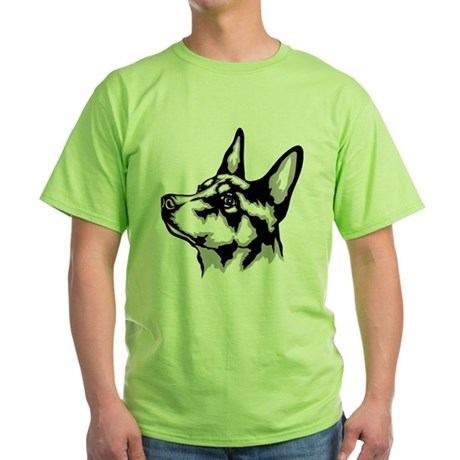 Australian Kelpie Green T-Shirt