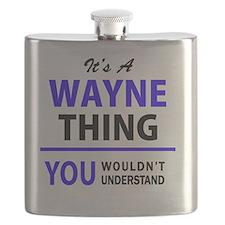 Unique Wayne Flask