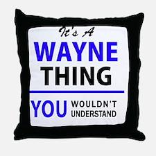 Cute Wayne Throw Pillow