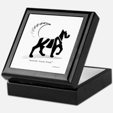 Kian Black Dog Keepsake Box