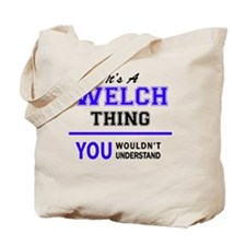 Cute Welch Tote Bag