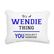 Unique Wendy's Rectangular Canvas Pillow