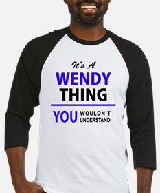 Cute Wendy Baseball Jersey