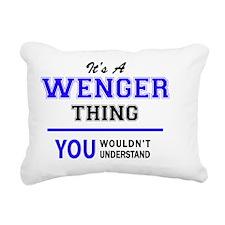 Cute Wenger Rectangular Canvas Pillow