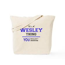 Unique Wesley Tote Bag
