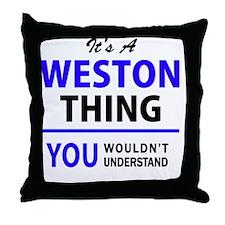 Unique Weston Throw Pillow
