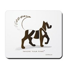 Kian Brown Dog Mousepad