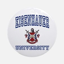 EISENHAUER University Ornament (Round)