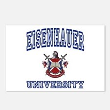 EISENHAUER University Postcards (Package of 8)