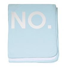 NO - Ultimate Disambiguation white baby blanket