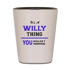 Unique Willy Shot Glass