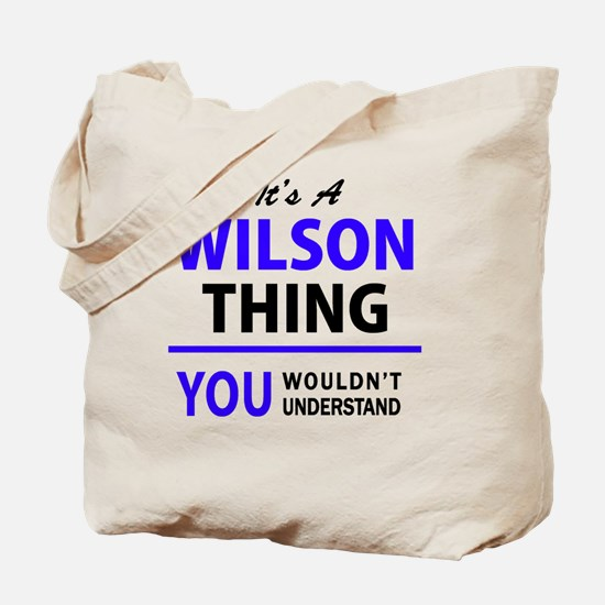 Cute Wilson Tote Bag
