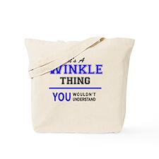 Cute Winkle Tote Bag