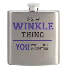 Cute Winkle Flask