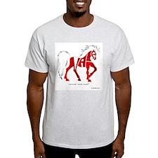 Nadia Red Horse T-Shirt