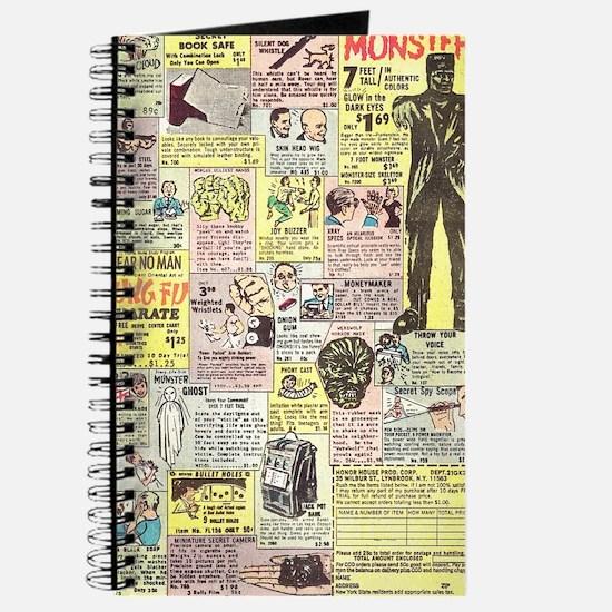 Cute Comic book Journal