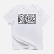 Palenque Ancient Astronaut UFO Blac Infant T-Shirt
