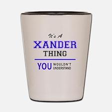 Cute Xander Shot Glass