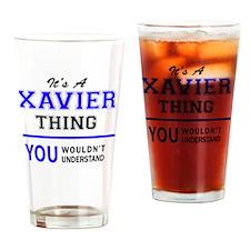 Unique Xavier Drinking Glass