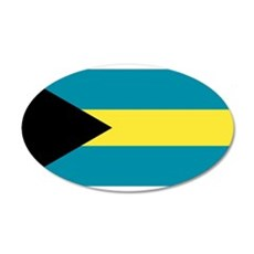 Bahamas flag Wall Sticker