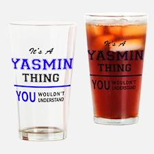 Cute Yasmin Drinking Glass