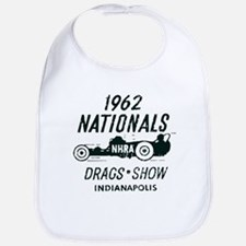 Drags Racing Indianapolis 1962 Bib