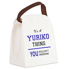 Yuriko Canvas Lunch Bag