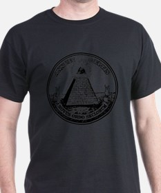 Steampunk Illuminati New Order T-Shirt