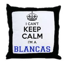 Blanca Throw Pillow