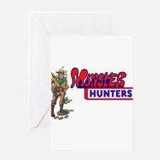 Monster Hunters Greeting Cards