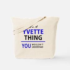 Cute Yvette Tote Bag