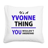 Yvonne Square Canvas Pillows