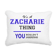Cute Zachary Rectangular Canvas Pillow